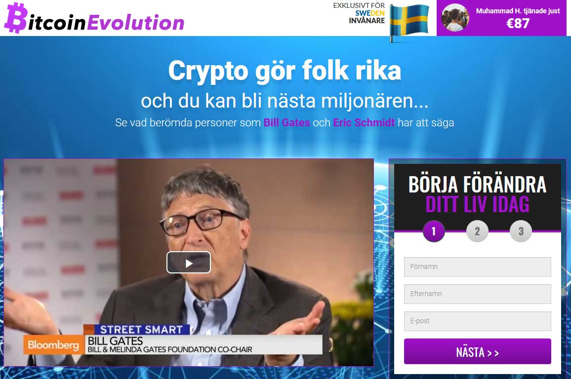 Bitcoin Evolution Ärlig Recension