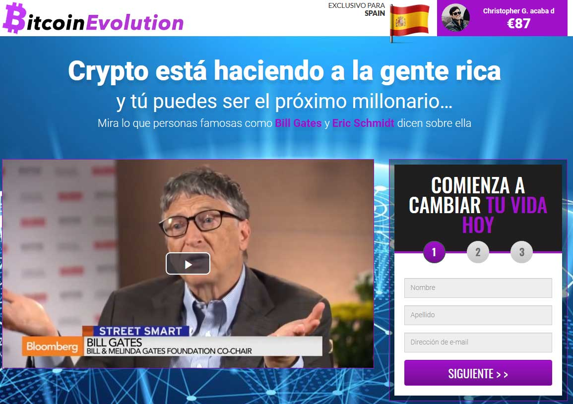 Bitcoin Evolution ¿Broker Confiable y Seguro?
